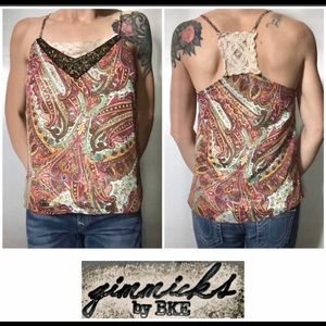 💙BKE Gimmicks collection lined paisley Cami